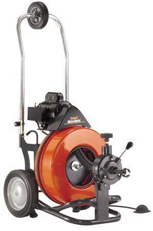 mighty rooter drain cleaning machine